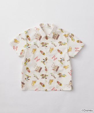 【COMME CA FILLE】うめだ阪急限定Disney総柄シャツ