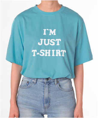 【5252 by oioi】I'M JUST Tシャツ
