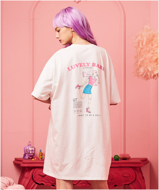 【LUV IS TRUE】Tシャツ