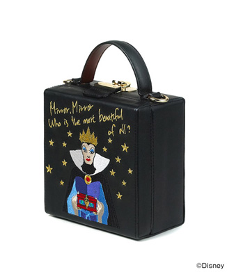 【HIGH CHEEKS】Disney The Evil Queen's Mirror トランク バッグ