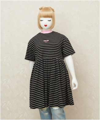 【LAZY OAF】tiny stripe sall
