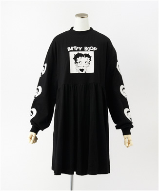 【LAZY OAF】betty boop long