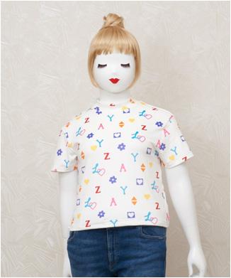 【LAZY OAF】HOUSE OF LOGO T-SHIRT