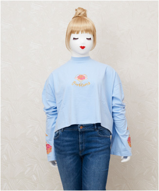 【LAZY OAF】PROBLEMS LONG SLEEVE T-SHIRT