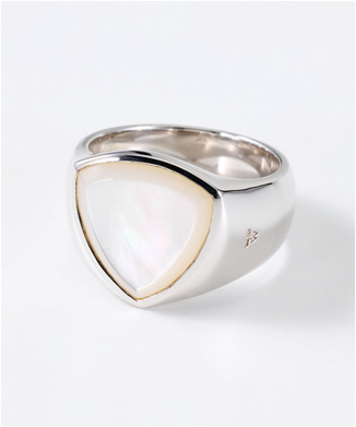 【TOMWOOD】THE SHIELD WHITE MOTHER OF PEARL
