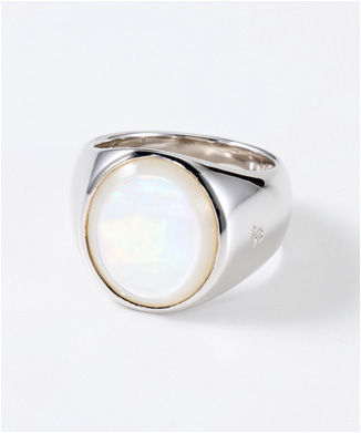【TOMWOOD】THE OVAL WHITE MOTHER OF PEARL