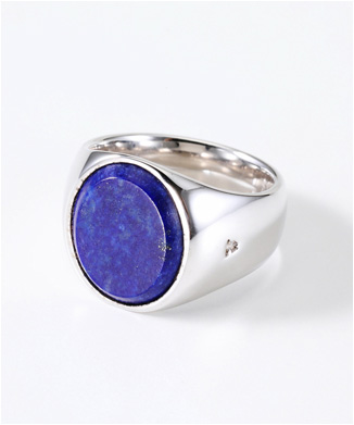 【TOMWOOD】THE OVAL BLUE LAPIS