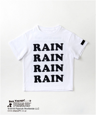 "【GRIS】キッズ SNOOPY ""RAIN""T-SHIRTS"