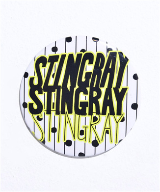 【STINGRAY】BADGE(HANKYU2018)■9月末 再販予定