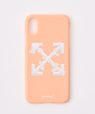 【OFF WHITE】リーフアロー for iphone X