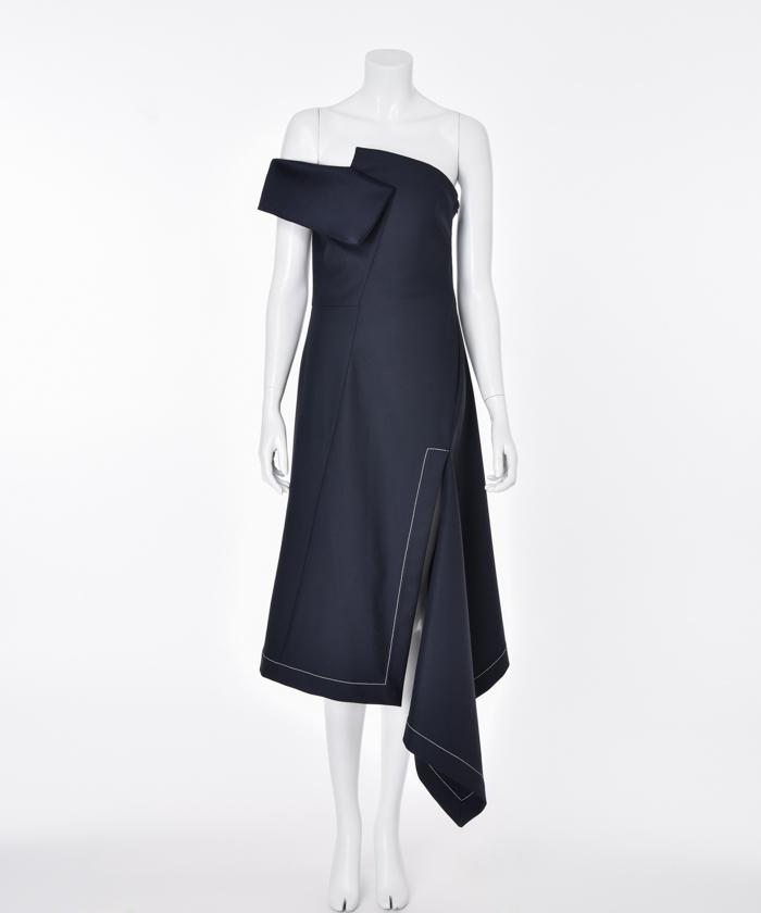 59026b01a7236 MONSE ワンショルダードレス(F193H026)|レディースファッション|阪急 ...