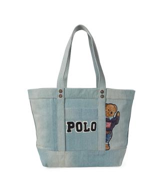 59c146bac589 再入荷 【POLO RALPH LAUREN】キャンバス Polo ベア トートバッグ