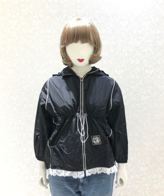 【little sunny bite】Nylon girly jacket