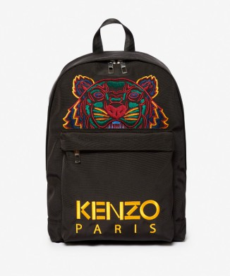 【KENZO】Tiger Backpack Nylon Canvas