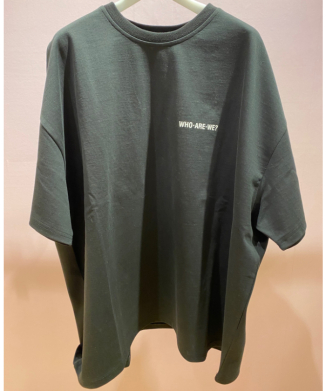 R OVERSIZE HIGHLIGHTER T-SHIRT