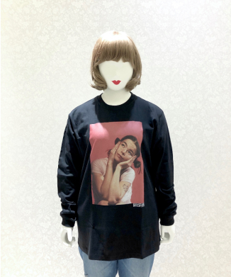 【little sunny bite】Photo print long tee