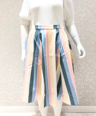 【Collectif】MATILDE TEACUP STRIPE SKIRT