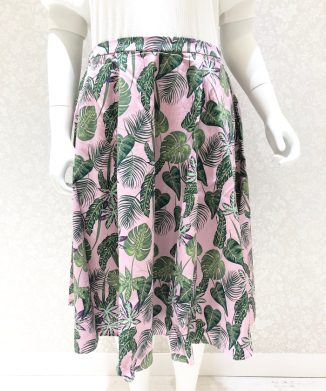 【Collectif】MATILDE PINK FOREST SKIRT
