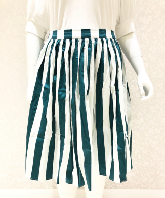 【Collectif】JASMINE GLADE STRIPE SWING SKIRT