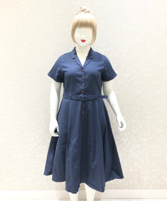 【Collectif】CATERINA VINTAGE SWING DRESS