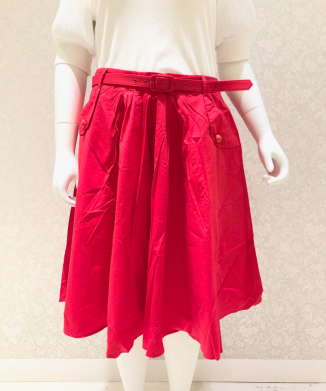 【Collectif】DAKOTA PLAIN SWING SKIRT