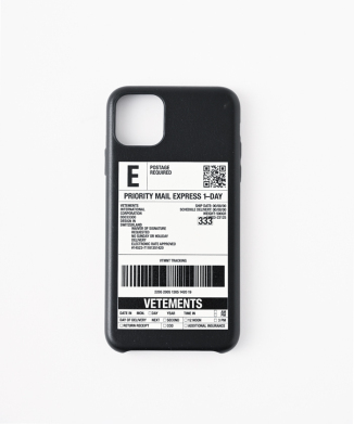 【Vetements】DELIVERY STICKER iphone用case