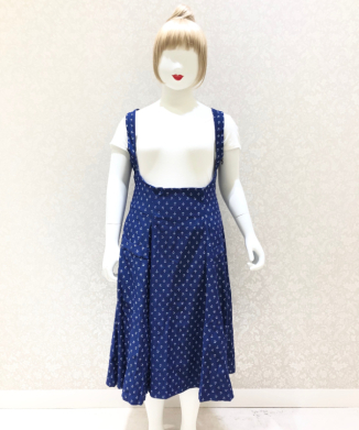【Unique Vintage】Amma Ancho Skirt