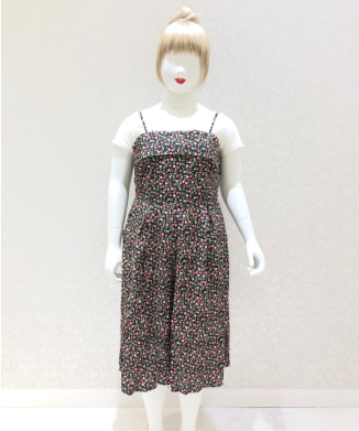 【Unique Vintage】Nancy Flower Rompers