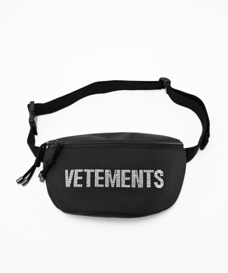 【Vetements】STRASS FANNY PACK
