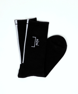 CORE LOGO SOCK WITH LINE AT BACK ACW-AW19-FSC01