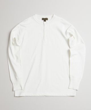 ナイジェル・ケーボン 40'S WORK HENLEY NECK LONG SLEEVE 80390020006