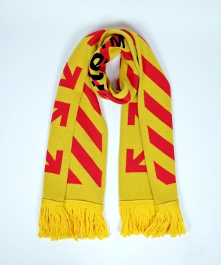 ARROWS SCARF YELLOW OMMF9-343