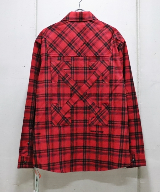 FLANNEL CHECK SHIRT OMGR20-363