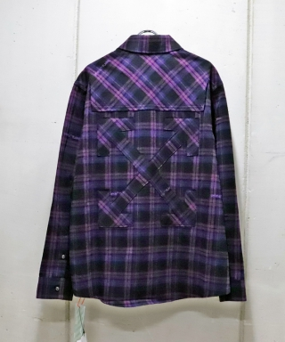 FLANNEL CHECK SHIRT OMGR20-364