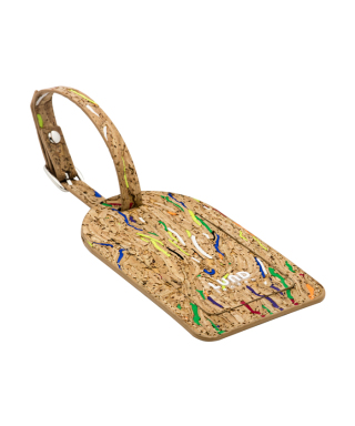 Cork'd Luggage Tag