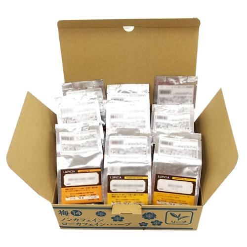2021冬福袋 梅 リーフ バラエティー 紅茶・緑茶・烏龍茶(フレーバード含む)