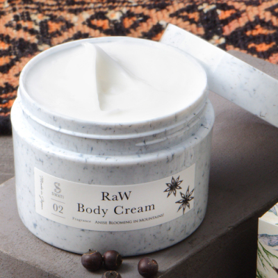 RaW Body Cream(Anise blooming in Mountains!)